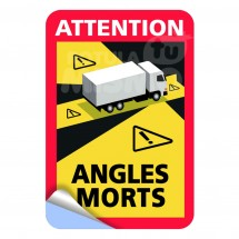 Vinilos attention angles morts